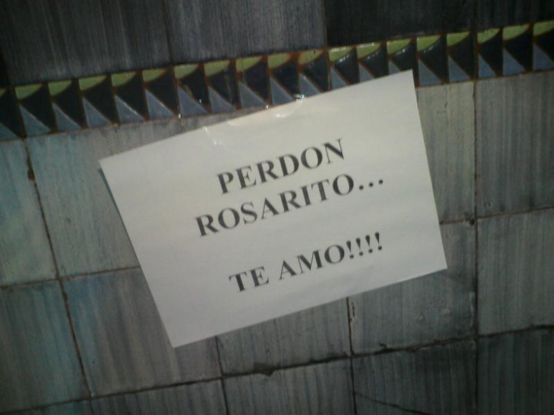 Perdoname Rosarito