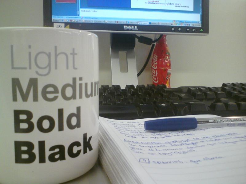 Light, Medium, Bold, Black